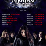Magica anunta noi concerte in tara