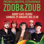 Concert Zdob si Zdub la Godot Cafe din Bucuresti