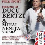 Ducu Bertzi deschide sezonul de folk