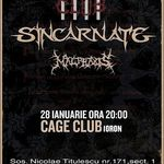 Concert Sincarnate in Cage Club. Rockoteca dupa concert