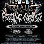 Rotting Christ sustin trei concerte in Romania in luna mai