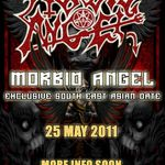 Morbid Angel concerteaza in Singapore