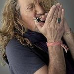 Filmari si interviu cu Robert Plant la Letterman