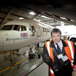 Noul avion Iron Maiden e pregatit pentru turneu (foto)