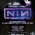 Concert tribut Nine Inch Nails sambata seara in Club Fabrica