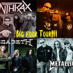 The Big Four anunta noi concerte in Europa