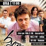 byron canta live la CityFM