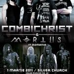 Concert Combichrist si Mortiis marti seara la Silver Church