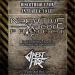 Concert Open Fire si Negative Core Project in Suceava
