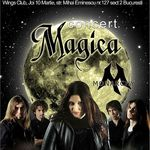 Concert Magica si Monarchy in Wings Club Bucuresti