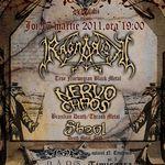 Ragnarok (Norvegia) si Nervochaos (Brazilia) anunta inca doua concerte in Romania
