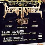 Programul concertelor Death Angel in Romania
