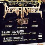 Programul concertelor Death Angel in Romania