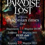 Paradise Lost au dat startul turneului Draconian Times (video)