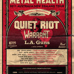 Quiet Riot, Warrant si L.A. Guns pornesc in turneu