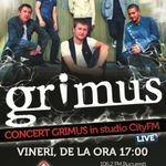 Concert Grimus in studioul City FM