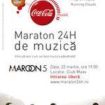 Maratonul Coca-Cola Music 24h cu Maroon 5 continua