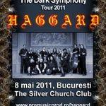 Au ramas doar 300 de bilete pentru concertul Haggard la Bucuresti