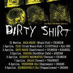 Noi artisti adaugati la turneul Dirty Shirt