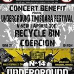 12 concerte rock si metal in tara si in Bucuresti pe 1 aprilie