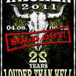 Dir En Grey si Lacrimas Profundere canta la Wacken Open Air 2011