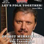 Concert Ovidiu Mihailescu, Dan Caramihai si Rapsotree in Music Hall