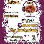 Concert The Amsterdams, Aeroport si Razna la Clubul Taranului