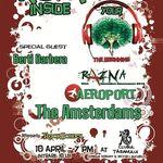 Programul concertului The Amsterdams, Razna si Aeroport din Clubul Taranului