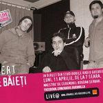 Concert Niste Baieti la GuerriLIVE Sessions
