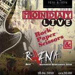 Concert Razna la Tete-a-Tete Bucuresti
