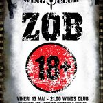 Concert aniversar Z.O.B. in Wings Club Bucuresti