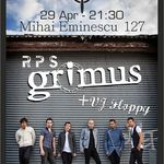 Concert Grimus si Rock Paper Scissors in Wings Club Bucuresti