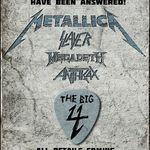 Asculta repetitiile Metallica pentru concertul The Big Four din S.U.A. (video)