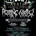 Programul concertelor Rotting Christ in Romania