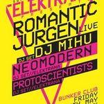 Concert Romantic Jurgen in club Bunker din Timisoara