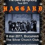 Programul concertului Haggard la Bucuresti