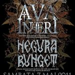 Concert Ava Inferi si Negura Bunget sambata in Club Wings