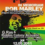 Trei concerte tribut Bob Marley in Romania