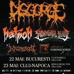 Disgorge sustin doua concerte in Romania