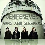 Castigatorul invitatiei la concertul Arms And Sleepers si Jeniferever din Control