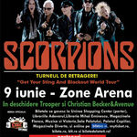 O categorie de bilete la concertul Scorpions este sold out!