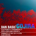 Party cu Dan Basu si Gojira in club Control Bucuresti