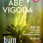 Concert Abe Vigoda si Mono Jacks in club Control Bucuresti