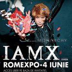 Concert IAMX si Monarchy la Bucuresti