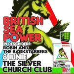 Robin and the Backstabbers deschid concertul British Sea Power la Bucuresti