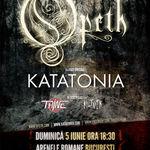 Ultima zi de concurs pentru concertul Opeth si Katatonia la Bucuresti