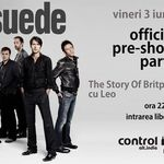 The Story Of Britpop: SUEDE Official Pre-Show Party in Control