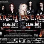 Filmari cu Arch Enemy in Katowice