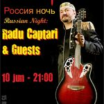 Russian Night cu Radu Captari & Guests in Wings
