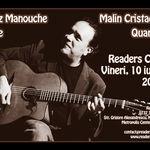 Concert Jazz Manouche: Malin Cristache Quartet la Readers Cafe